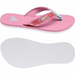 Adidas Beach Thong K Lány Gyerek Papucs (Rózsaszín-Fehér-Kék) S80625