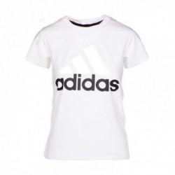 Adidas Essentials Linear Slim Tee Női Póló (Fehér-Fekete) S97214