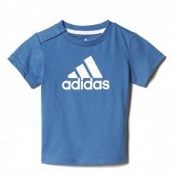 Adidas Performance Favorite Tee Kisfiú Bébi Póló (Kék-Fehér) CE9465