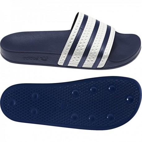 ed2f2c6cce Adidas Originals Adilette Slides Férfi Papucs (Kék-Fehér) G16220