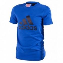 Adidas Young Boy Logo Tee Fiú Gyerek Póló (Sötétkék-Fekete) BK3486