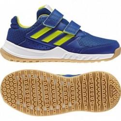 Adidas Forta Gym CF K Fiú Edzőcipő (Kék-Zöld) CG2679