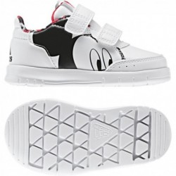 Adidas Disney Mickey AltaSport CF I Fiú Gyerek Cipő (Fehér-Fekete-Piros) BY2643