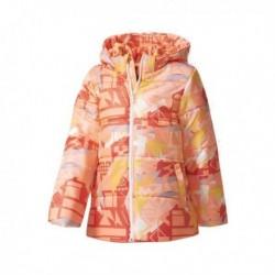 Adidas Long Pad Girl Jackets Lány Gyerek Kabát (Barack-Narancssárga-Sárga) CF1581