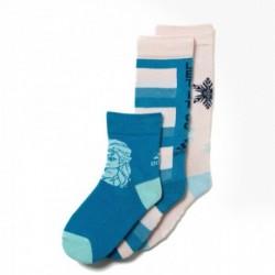 Adidas Disney Frozen Socks 3 Pairs Lány Gyerek 3 Páras Zokni (Fehér-Kék) CD2699