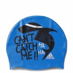 Adidas Graphic Cap Y Úszósapka (Kék-Fekete-Fehér) AY2930