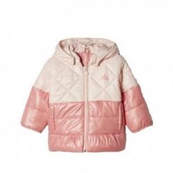 Adidas Inf Padded Girl Jacket Kislány Bébi Kabát (Rózsaszín) CF1565