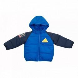 Adidas Inf Padded Boy Jacket Kisfiú Bébi Kabát (Kék-Piros-Sárga) CF1573