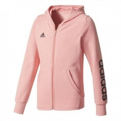 Adidas Young Girl Linear FZ HD Lány Gyerek Felső (Rózsaszín-Fekete) CF1693