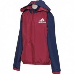 Adidas Young Boys Wind Jacket Fiú Széldzseki (Bordó-Kék) AY8164