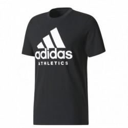 Adidas Sport ID Branded Tee Férfi Póló (Fekete-Fehér) BR4749