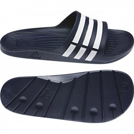 Adidas Duramo Slide Férfi Papucs (Sötétkék-Fehér) G15892