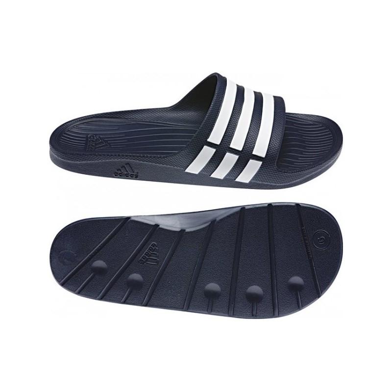 Adidas Duramo Slide Férfi Papucs (Sötétkék Fehér) G15892