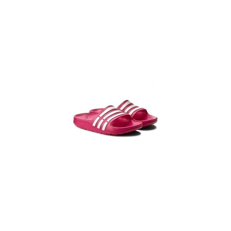 9ec43579fa63 Adidas Duramo Slide K Lány Papucs (Pink-Fehér) D67480