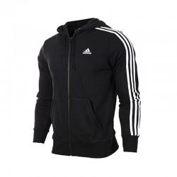Adidas Essential 3 Stripes Férfi Felső (Fekete-Fehér) S98786
