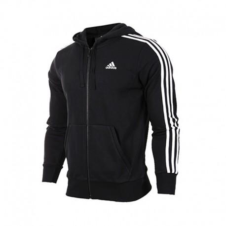 ab3b28a0ae Adidas Essential 3 Stripes Férfi Felső (Fekete-Fehér) S98786