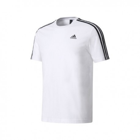 3e787b6119 Adidas Essentials 3 Stripes Férfi Póló (Fehér-Fekete) S98716