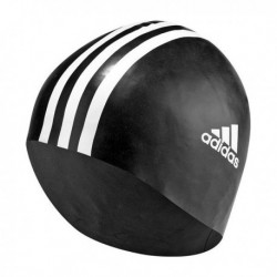 Adidas Silicone 3 Stripes Cap 1pc Úszósapka (Fekete-Fehér) 802310