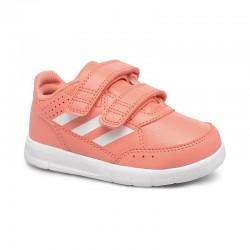 Adidas AltaSport CF I Kislány Gyerek Cipő (Barack-Fehér) CP9948
