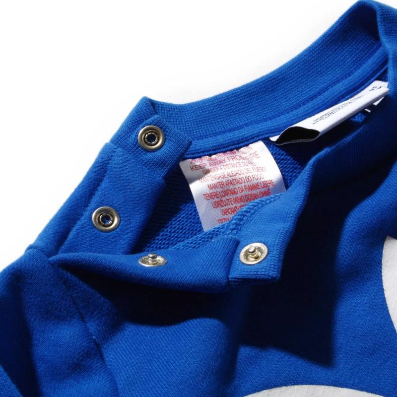 0b899a68a75e ... Adidas Originals Trefoil Crew Set Kisfiú Bébi Melegítő Együttes  (Kék-Fehér) CE1159