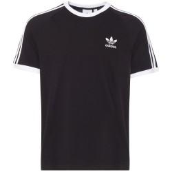 Adidas Originals 3 Stripes Tee Férfi Póló (Fekete-Fehér) CW1202