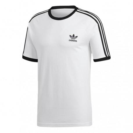 d8dcd904be Adidas Originals 3 Stripes Tee Férfi Póló (Fehér-Fekete) CW1203