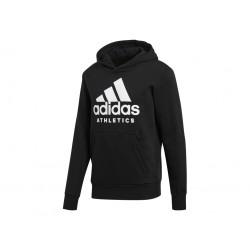 Adidas Sport ID Pullover Hoodie Férfi Pulóver (Fekete-Fehér) BR4747