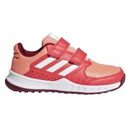 Adidas FortaGym CF K Lány Gyerek Cipő (Piros-Fehér) DA8877