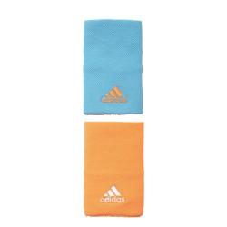 Adidas Tennis Wristband Large Csuklószorító (Kék-Narancssárga) S97883