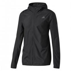 Adidas Response Hooded Wind Jacket Férfi Széldzseki (Fekete) BQ2152
