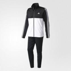 Adidas Back 2 Basic 3 Stripes TS Férfi Melegítő Együttes (Fekete-Fehér) BK4091