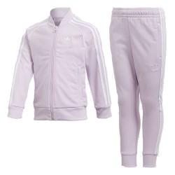 Adidas Originals Trefoil SST Track Suit Lány Gyerek Melegítő Együttes (Rózsaszín) CD8441