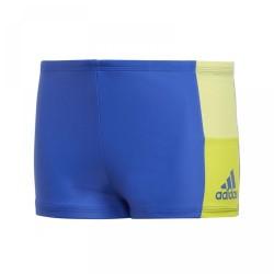 Adidas Infinitex Colorblock Boxer Fiú Gyerek Úszó Boxer (Kék-Sárga) CW4809