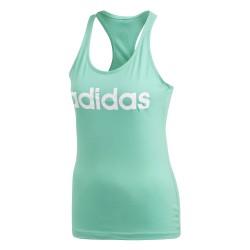 Adidas Essentials Linear Slim Tank Top Női Top (Zöld-Fehér) CE4121
