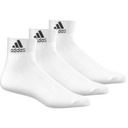 Adidas Performance Thin Ankle Socks 3 P 3 Páras Zokni (Fehér-Fekete) AA2320