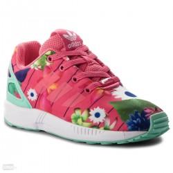 Adidas Originals ZX Flux EL I Kislány Gyerek Cipő (Rózsaszín-Színes) CM8123