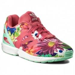 Adidas Originals ZX Flux C Lány Gyerek Cipő (Rózsaszín-Színes) CM8129
