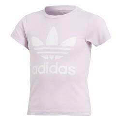 Adidas Originals Trefoil Tee Lány Gyerek Póló (Rózsaszín-Fehér) CD8440