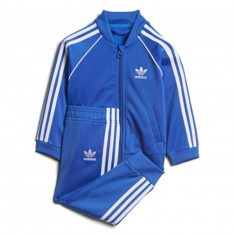 Adidas Originals SST Track Suit Kisfiú Bébi Melegítő Együttes (Kék-Fehér) CE1980