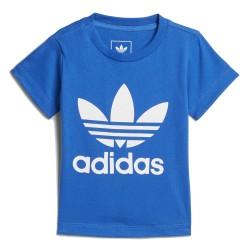 Adidas Originals Trefoil Tee Kisfiú Bébi Póló (Kék-Fehér) CE4318