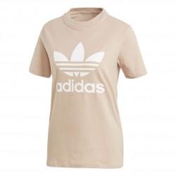 Adidas Originals Trefoil Tee Női Póló (Rózsaszín-Fehér) CV9894