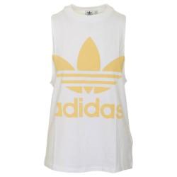 Adidas Originals Trefoil Tank Női Trikó (Fehér-Sárga) CE5582