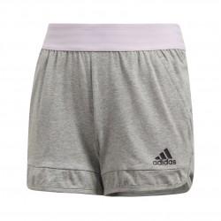 Adidas ID Cotton Short Lány Gyerek Short (Szürke) CF6734