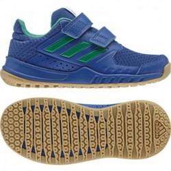 Adidas FortaGym CF K Fiú Edző Cipő (Kék-Zöld) BA9337