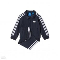 Adidas Originals Firebird Track Suit Kisfiú Bébi Együttes (Fekete-Fehér) BJ8542