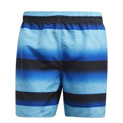 Adidas Stripe SH SL Férfi Úszó Short (Kék) CV5166