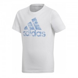 Adidas Performance BOS Fiú Gyerek Póló (Fehér-Kék) CV6143
