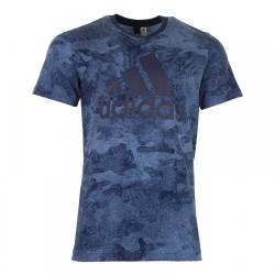 Adidas Essentials Camo Tee Férfi Póló (Kék) CY6264