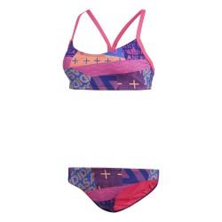 Adidas Allover Print Bikini Női Bikini (Rózsaszín-Színes) CV4642