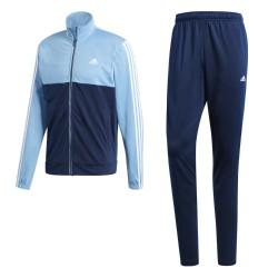Adidas Back 2 Basics 3S TS Férfi Melegítő Együttes (Kék-Fehér) CD8355